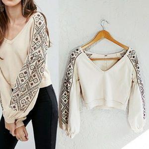 Free People Senorita Pullover Sweater